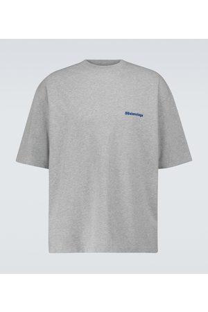 Balenciaga Men Short Sleeve - Medium-fit short-sleeved T-shirt