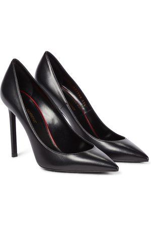 Saint Laurent Women High Heels - Anja leather pumps