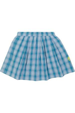 The Animals Observatory Girls Skirts - Bird checked cotton skirt