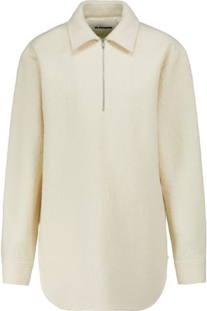 Jil Sander Cotton and wool polo top
