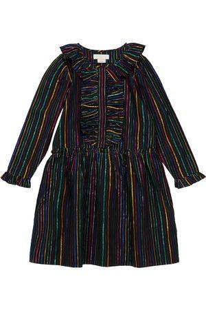 Stella McCartney Baby Dresses - Striped cotton-blend dress