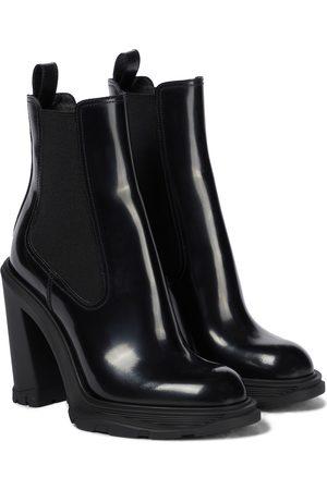 Alexander McQueen Tread leather Chelsea boots