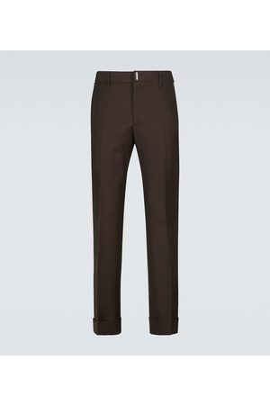 Givenchy Wool slim-fit pants