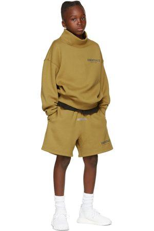 Essentials Kids Khaki Fleece Shorts