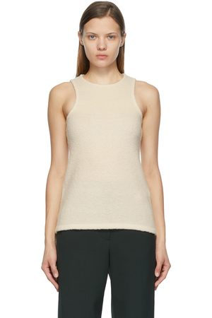 LOW CLASSIC Off- Boucle Tank Top