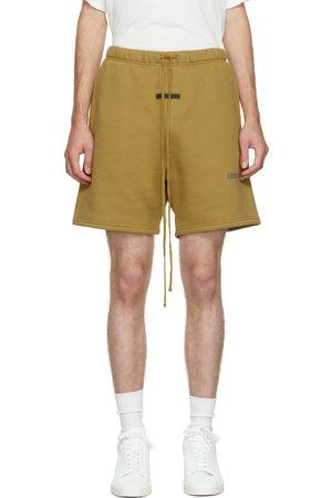 Essentials Khaki Fleece Shorts