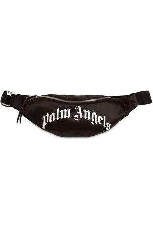 Palm Angels Curved Logo Belt Bag