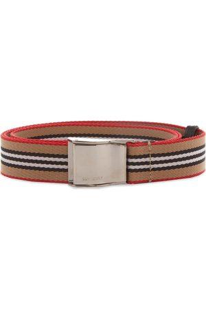 Burberry Icon Stripe Seatbelt Belt
