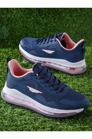 Red Tape Women Outdoor Shoes - Women Blue White Air + Walking Shoes