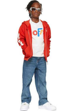 OFF-WHITE Hoodies - Kids Rounded 'Off' Hoodie