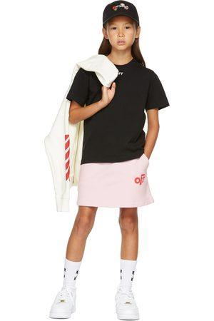 OFF-WHITE Kids Stamp Logo T-Shirt
