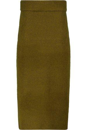 Proenza Schouler Low-rise knit maxi skirt