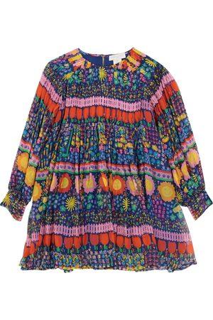 STELLA McCARTNEY Kids Printed silk georgette dress
