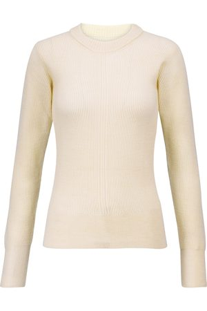 Maison Margiela Ribbed-knit stretch-wool sweater