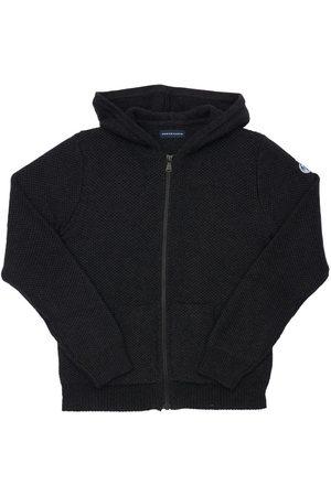 NORTH SAILS Boys Cardigans - Hooded Organic & Wool Knit Cardigan