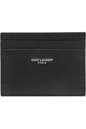 Saint Laurent Men Wallets - Logo Card Holder