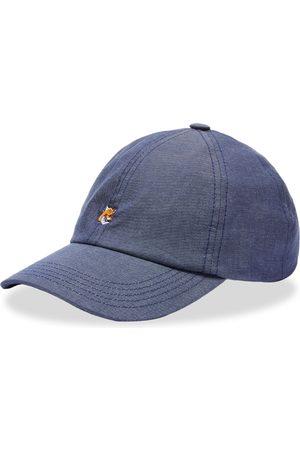 Maison Kitsuné Men Caps - Maison Kitsuné Small Fox Head Embroidery 6P Cap