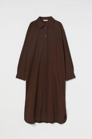 H&M Women Casual Dresses - Calf-length shirt dress
