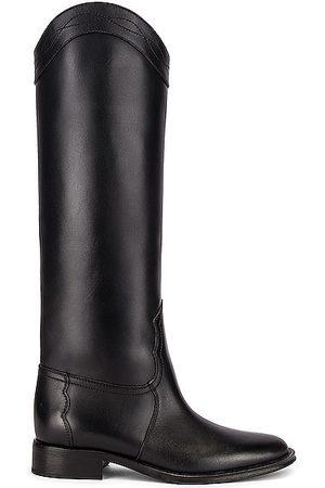 Saint Laurent Godiva Boots in Nero