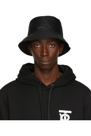 Burberry Jacquard Monogram Bucket Hat