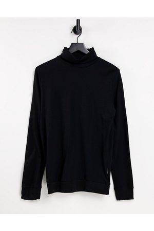 French Connection Roll neck long sleeve top in