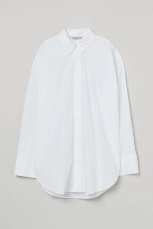 H & M Cotton poplin shirt