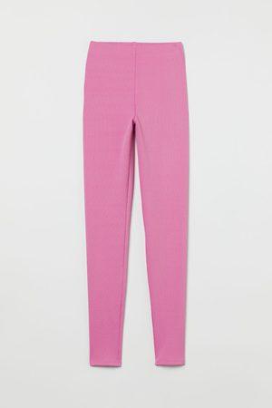 H & M Ribbed leggings
