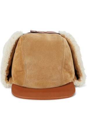 Chloé Chapka suede and shearling hat