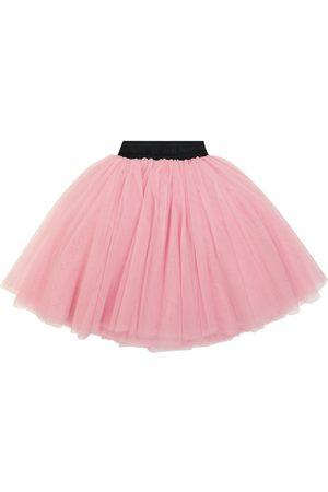 Balmain Tulle miniskirt