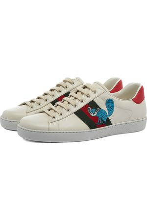 Gucci Men Sneakers - New Ace Character Sneaker
