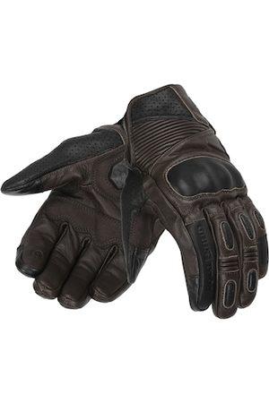 Royal Enfield Men Gloves - Men Brown Solid Leather Vamos Riding Gloves