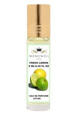 Menjewell Fresh Lemon Natural Eau de Parfum Attar 9ml