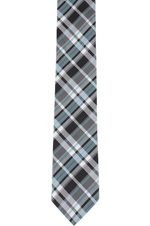 Alvaro Castagnino Men Multicoloured Checked Skinny Tie