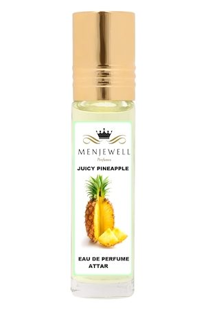 Menjewell Juicy PineApple Natural Eau de Parfum Attar 9ml
