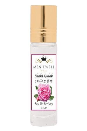 Menjewell Unisex Shahi Gulab Attar Perfume 9 ml