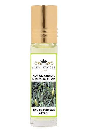 Menjewell Royal Kewda Natural Eau de Parfum Attar 9ml