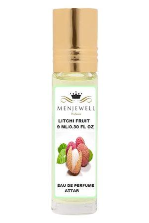 Menjewell Litchi Natural Eau de Parfum Attar 9ml