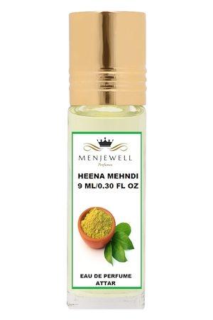 Menjewell Heena Mehndi Natural Eau de Parfum Attar 9ml