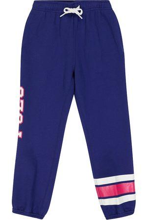 Ralph Lauren Girls Sports Trousers - Cotton-blend fleece sweatpants