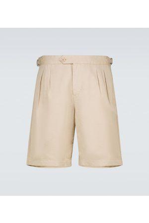 Orlebar Brown Bancroft cotton and linen-blend shorts