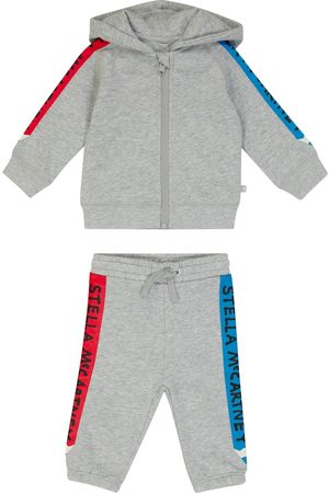 Stella McCartney Baby printed cotton jersey tracksuit