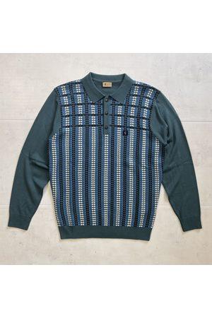 Gabicci Men Polo Shirts - Willis Knitted Polo - Juniper