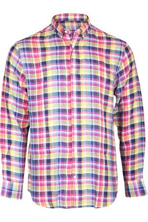 GANT D2. Reg Linen Madras BD Shirt
