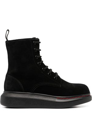 Alexander McQueen Hybrid Chunky Boots Boots Woman