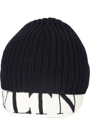 Valentino Ribbed Knit Logo-Hem