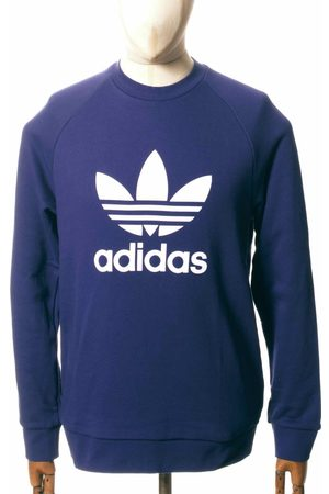 Adidas Originals Trefoil Sweatshirt - Night Sky Colour: Night Sky