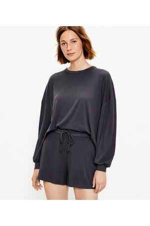 LOFT Women Sweatshirts - Lou & Grey Ribbed Sweatshirt