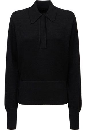 Isabel Marant Women Jumpers - Heron Wool Knit Polo Sweater