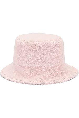 Miu Miu Terrycloth Bucket Hat in Petalo