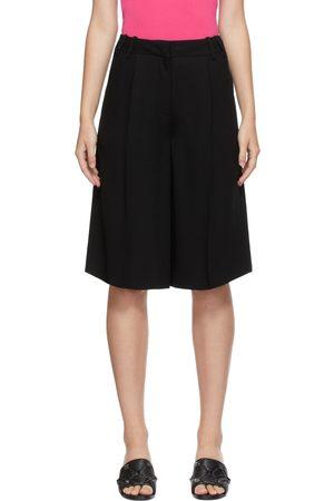 VALENTINO Silk Cady Bermuda Shorts